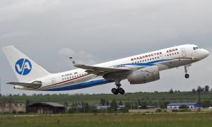 ту-204 владивосток авиа