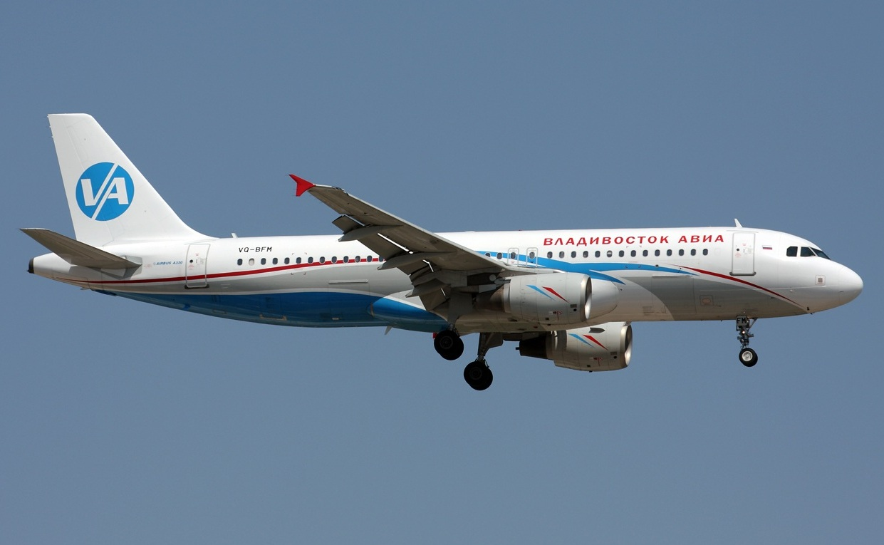 A320 Владивосток авиа