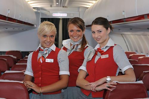 стюардессы ред вингс