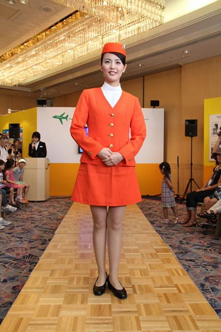 JAL uniform show 2011 - 1971