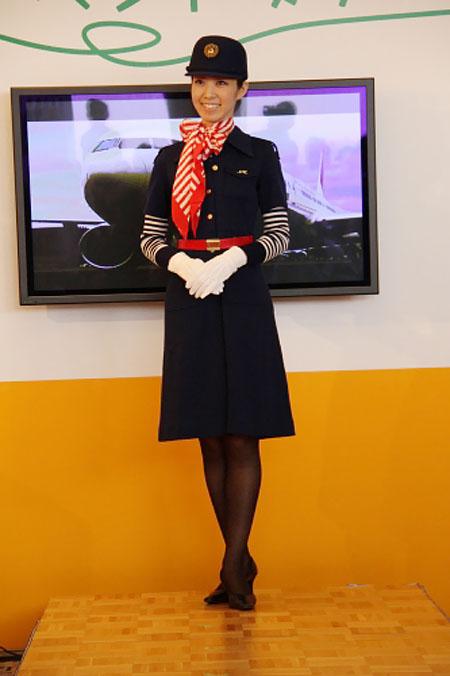 JAL uniform show 2011 - 1977-2