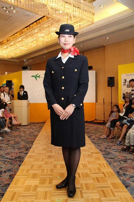 JAL uniform show 2011 - 1997