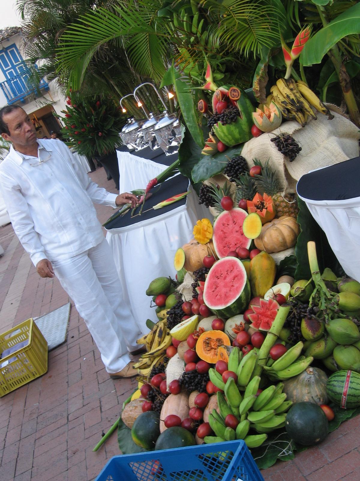 Колумбия. Обилие фруктов