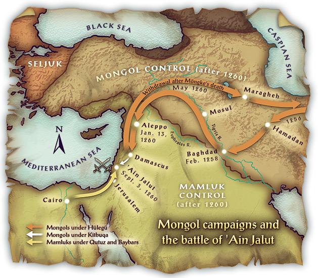 Монголы в Передней азии