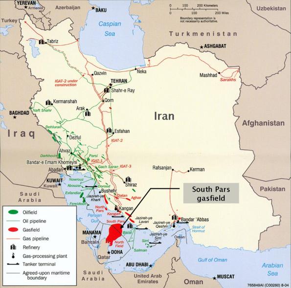 Нефтегаз Ирана