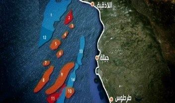 Нефть на шельфе Сирии