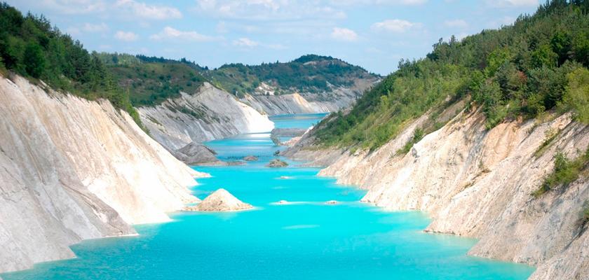 в беларуси меловые озера фото