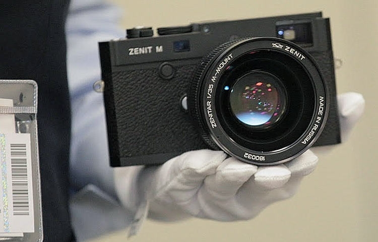 Не 1 апреля! Анонсирована цифровая камера Zenit M