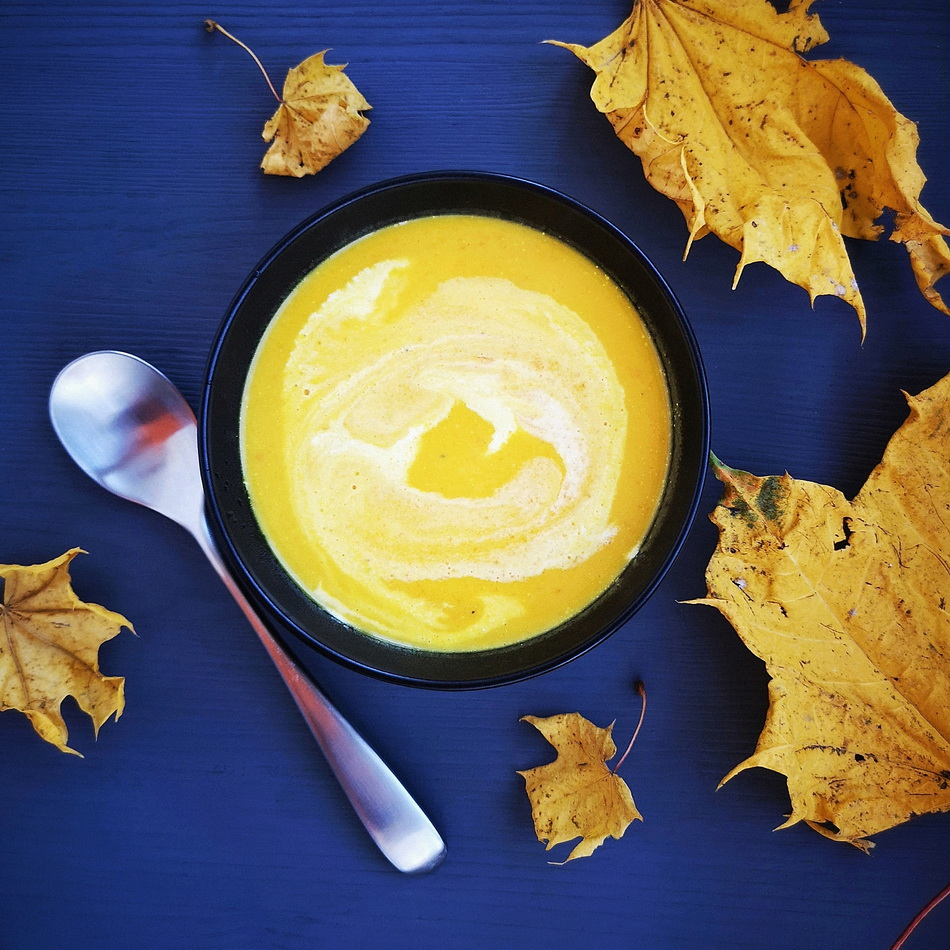 Крем-суп из тыквы за 25 минут.