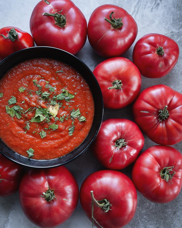 Простой рецепт томатного супа(и бульона).
