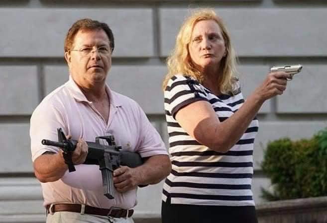 Адвокаты с оружием.