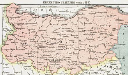 Болгария_(1885)