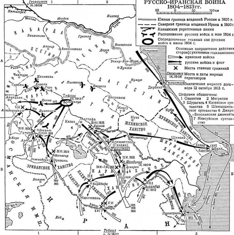 карта 1804