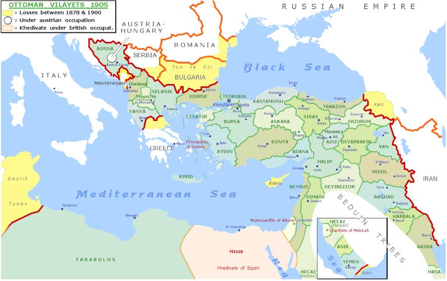 карта ту 1905