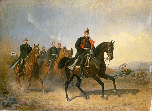 бис2 kaiser_wilhelm_i_von_preussen_zu_pferde_mit_bismarck_und_moltke_emil_volkers