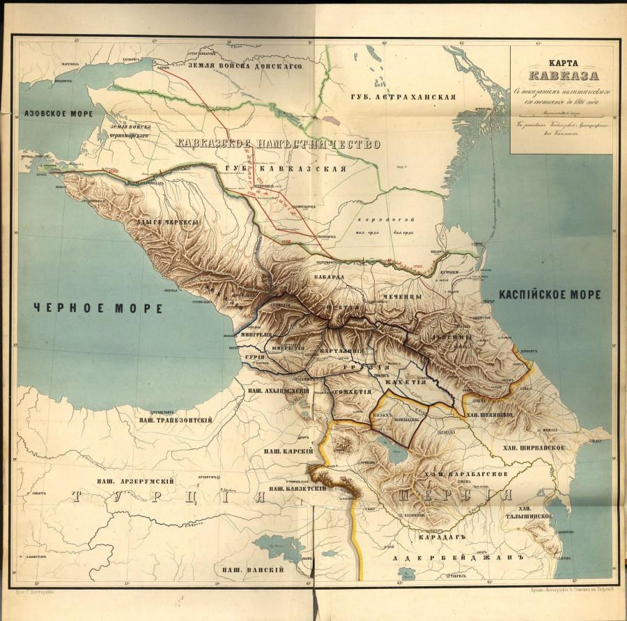 карта 1801_Caucasus(Tiflis)