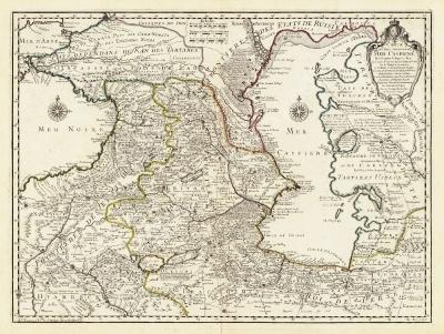 карта 1723stock-photo-staraya-karta-kavkaza-xviii-vek-1723-g-10939