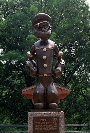 392px-Popeye_Statue_in_Chester,_Illnois