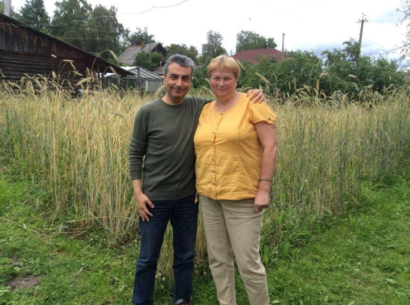 Со Светланой Васильковой, кандидатом на должность главы Пустошкинского района.