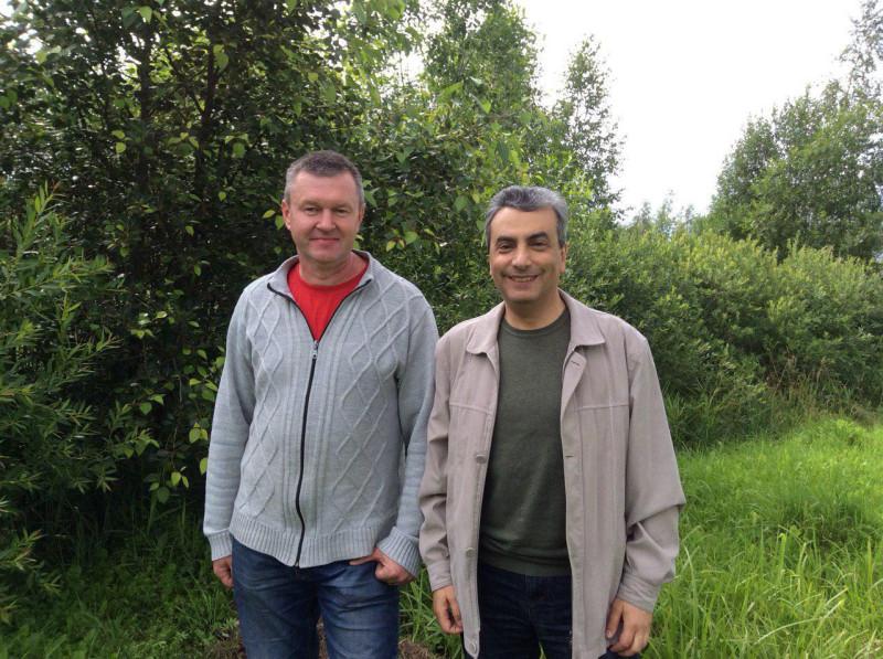 С Аркадием Васильевым, кандидатом на должность главы Пушкиногорского района.