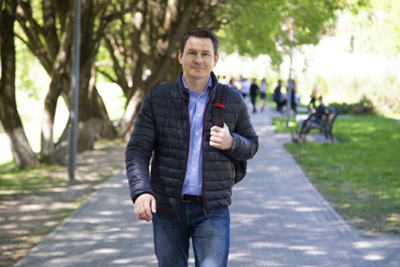 Николай Кузьмин, кандидат в депутаты Псковской городской Думы от Псковского «Яблока».