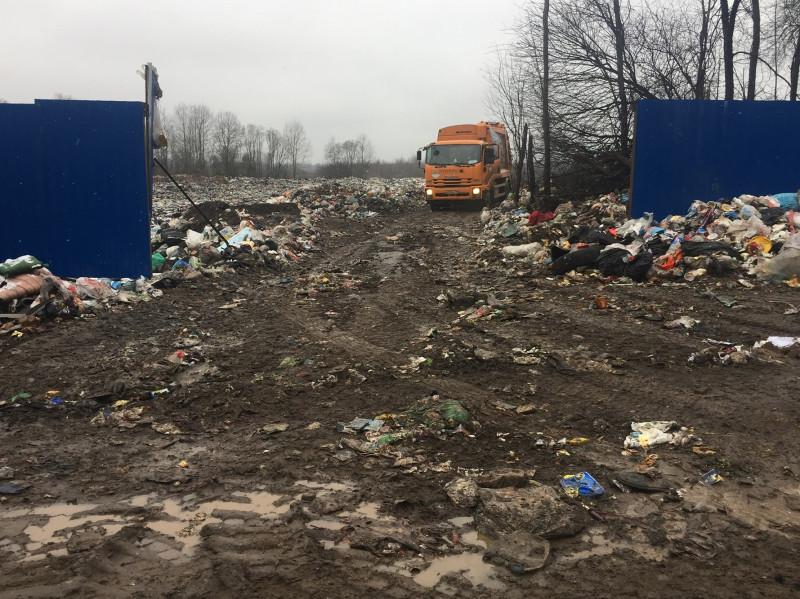 Незаконное использование ООО «Мехуборка Псков» полигона у деревни Гривцево Плюсской волости Плюсского района.