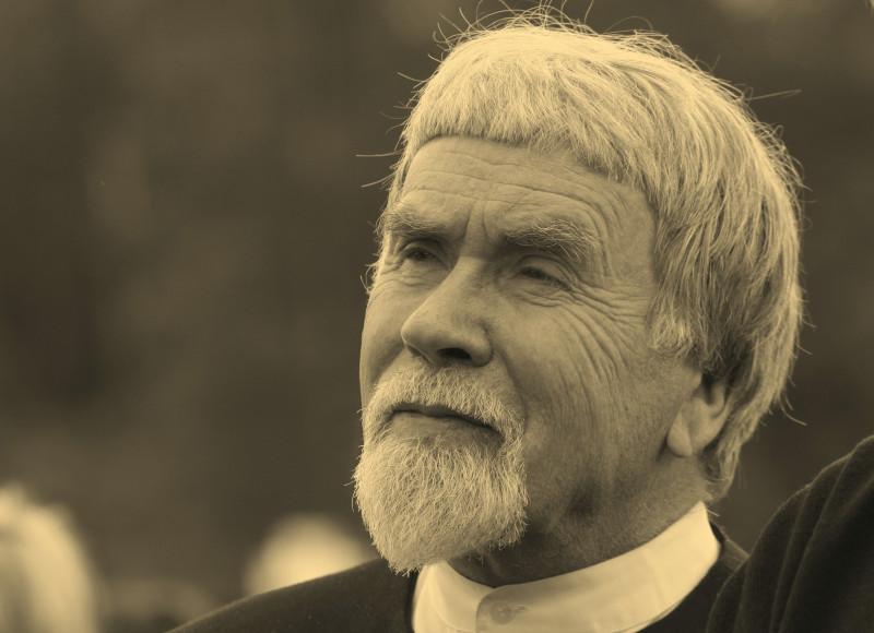 Валентин Яковлевич Курбатов. 6 июня 2009 года, большая Михайловская поляна.