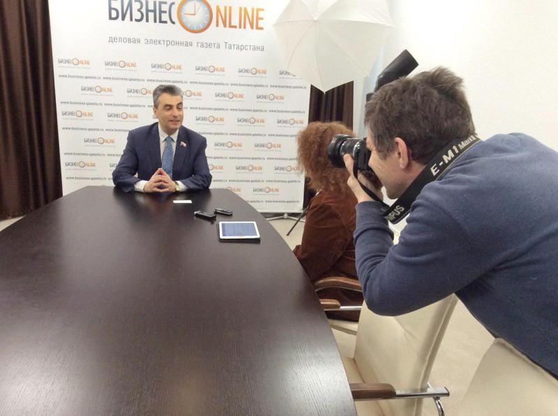 "Интервью интернет-порталу ""Бизнес-онлайн"""