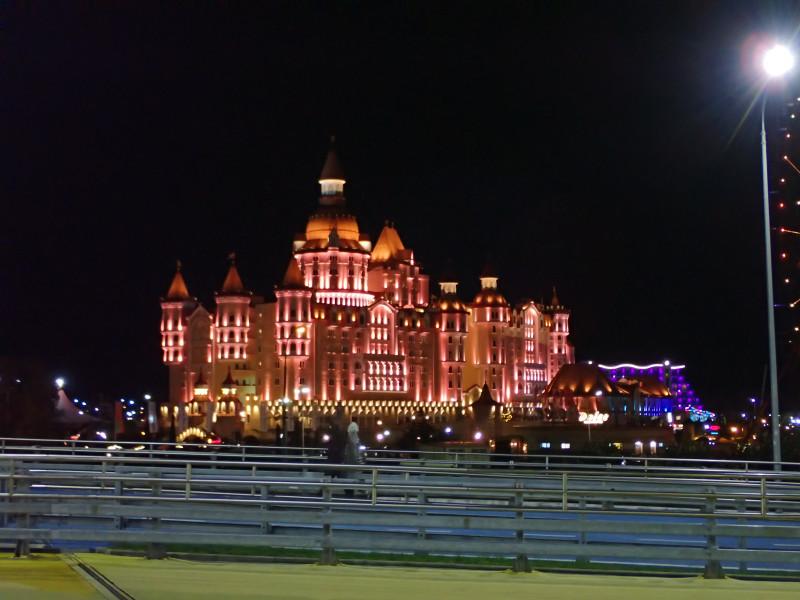 Отель Богатырь с Сочи-парке.
