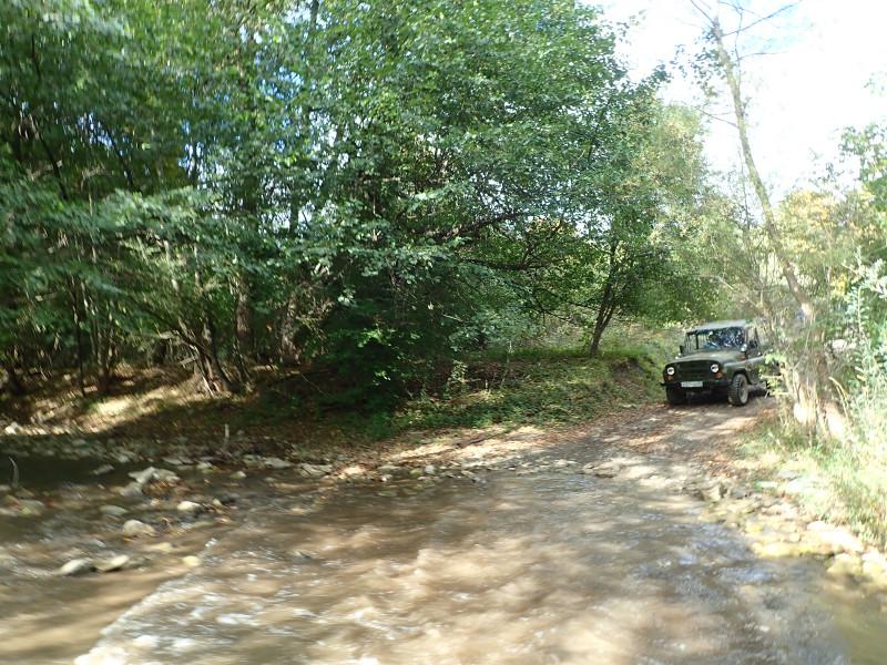 Река Кача. Переправа.