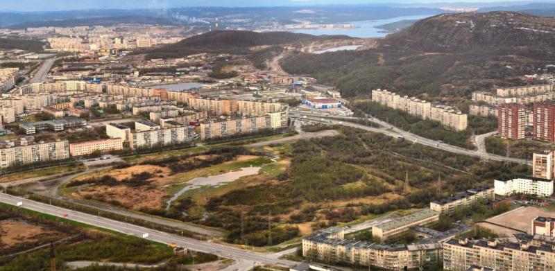 Мурманск. Долина Уюта.Фото из интернета