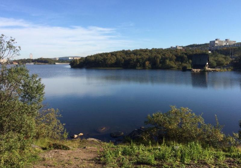 Семеновское озеро.