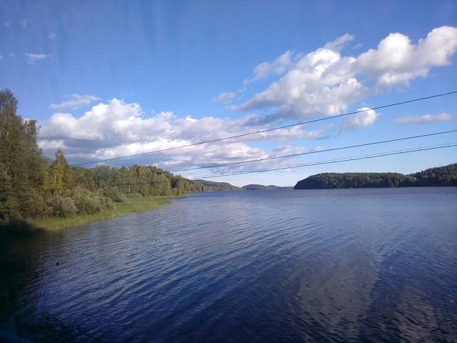 Ладожское озеро.