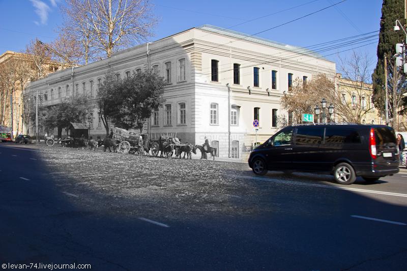 Cadet corps in Tiflis