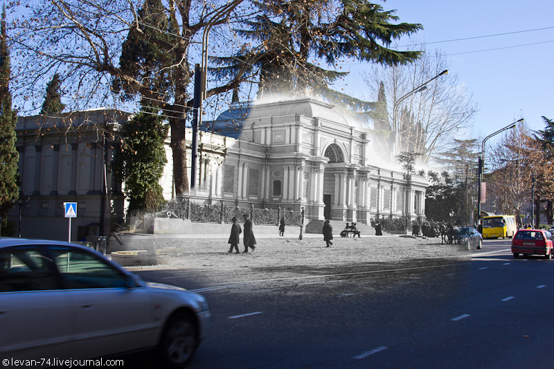 Temple of Fame in Tiflis