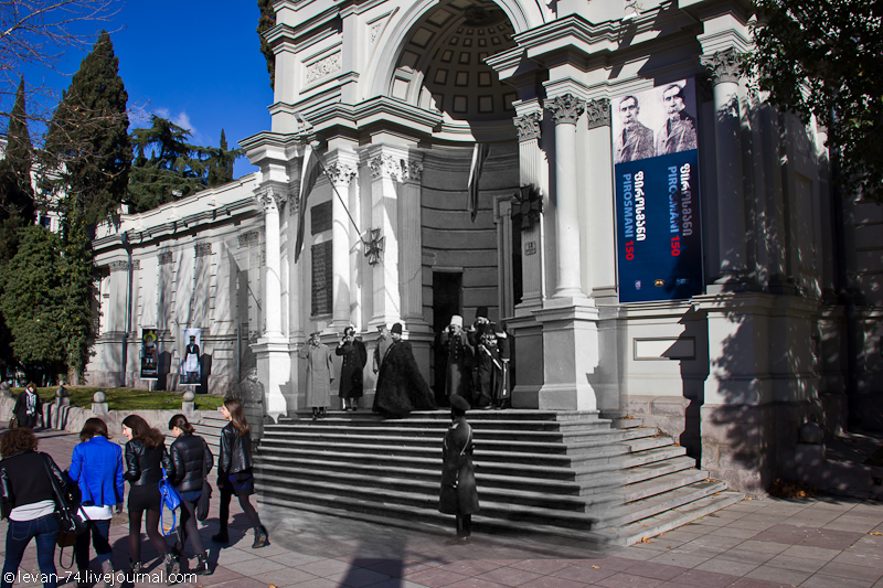 Tsar Nicholas II in Tiflis