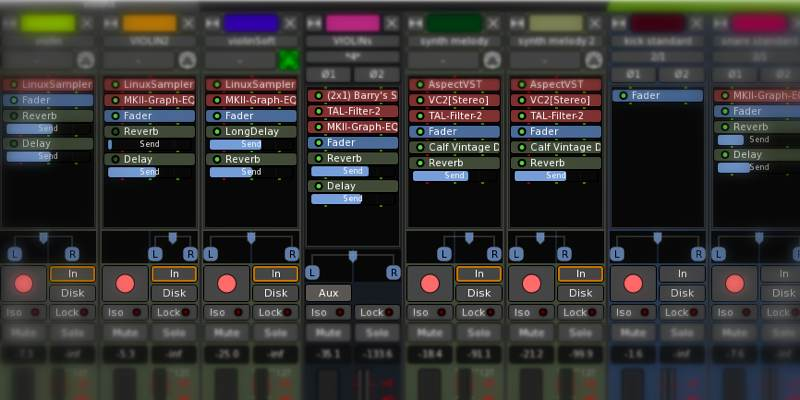 Оригинальная статья: https://levashove.ru/6-best-apps-creating-recording-music-linux/