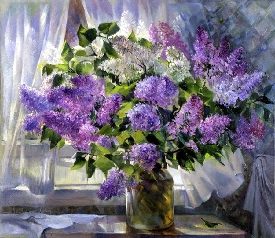 Нравятся мне натюрморты, когда цветы у ...: levkonoe.livejournal.com/4622325.html