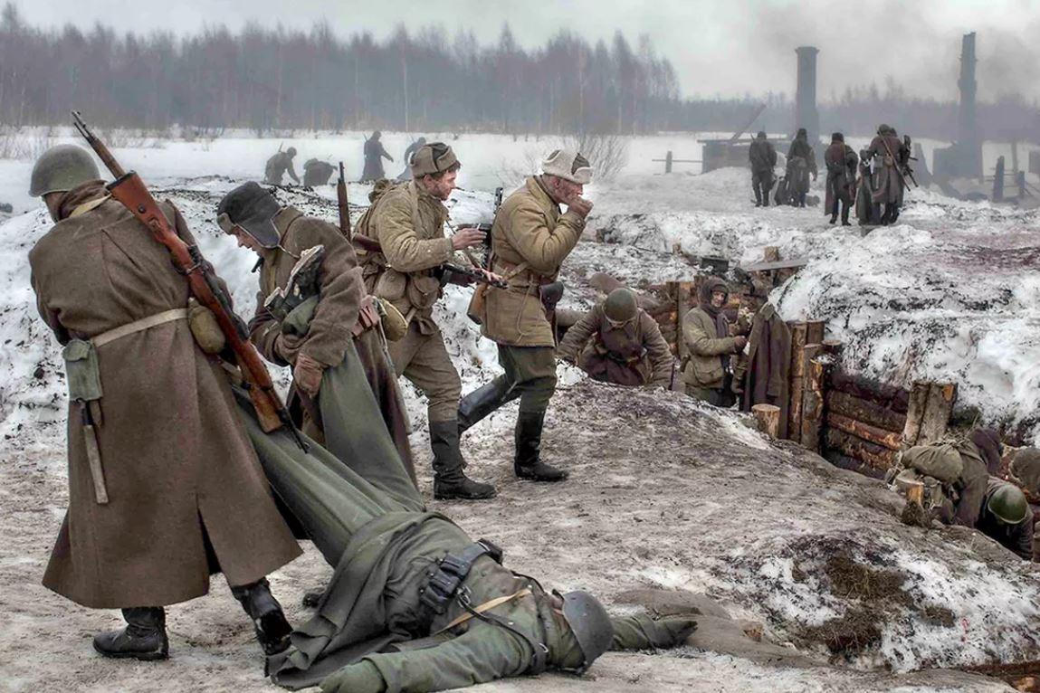 немецкие фото вов на ржевском направлении нет кого