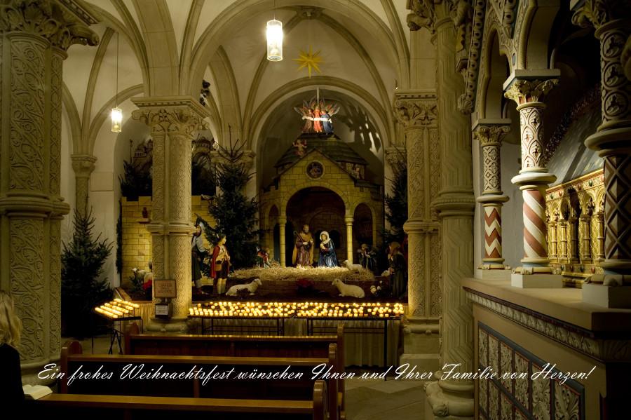 Weihnachtskrippe im Dom Osnabrueck 2012