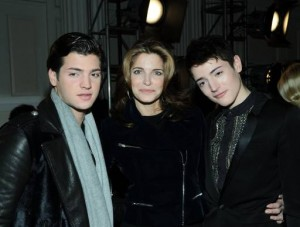 Stephanie-Seymour-her-sons-Peter-Harry-Brant-small