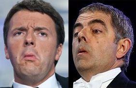 Matteo Renzi Mr. Bean-Y