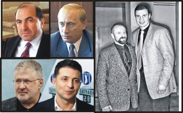 Zelenskii - Kolom - Putin