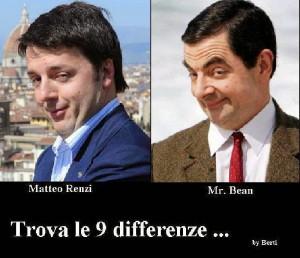 Matteo Renzi mr. bean2 2