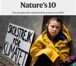 Greta Thunberg Climate catalyst NATUREsm2