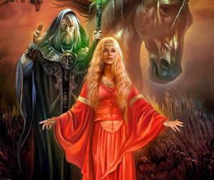 Бригита - кельтская богиня огня