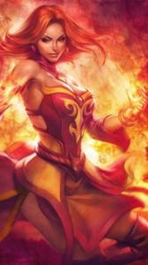 богиня огня2