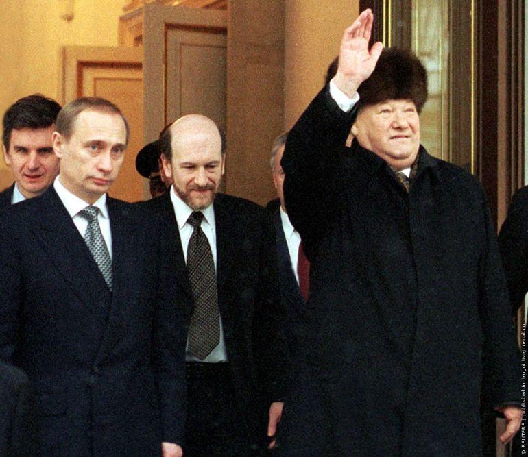 009 RUS - Politics - Jeltzin i Putin fz5z