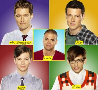 what are the glee guys wearing for halloween ? S320x240
