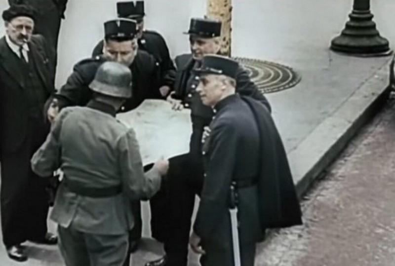 """Французские жандармы """"оказывают ожесточенное сопротивление"""" вермахту"""